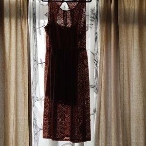 Pink lace dress 👗